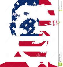 Usa Flag Vector Obama Usa Flag Vector Illustration Editorial Image Image 12944145