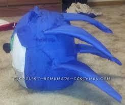 Sonic Hedgehog Halloween Costume Coolest Homemade Sonic Hedgehog Halloween Costume