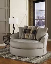 diy grey swivel chairs for living room beside lamp shade on wood