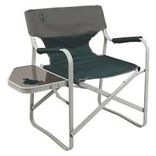 portable makeup chair with side table cing chairs with side table amazon com