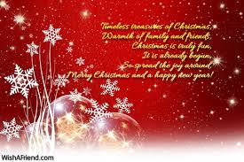 merry message for family and friends merry