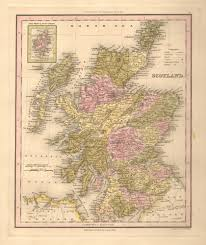 World Map Scotland by Antique Maps Of Scotland