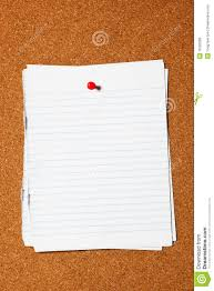 writing paper free writing paper on corkboard royalty free stock images image 16393289 corkboard paper writing
