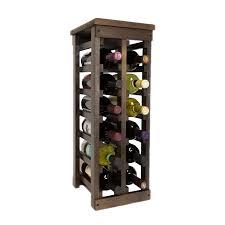 amazon com el mar furnishings 12 bottle classic wood wine rack