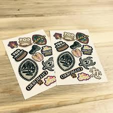dozen guam themed temporary tattoos gerard aflague collection