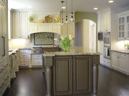 white kitchen wood island kitchens with white cabinets and island laphotos co