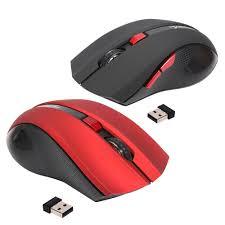 souris bureau hxsj ergonomique optique bureau 2 4g sans fil gaming mouse souris