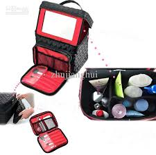 makeup travel bag images Super large capacity multi function cosmetic train cases makeup jpg