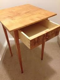 Shaker End Table Chris Schwartz Shaker End Table By Lblack2x4 Lumberjocks Com