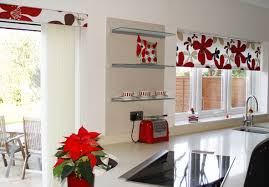 modern kitchen curtain ideas kitchen and decor