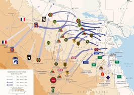 Map Of Persian Gulf Www Canadiansoldiers Com
