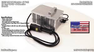 golf cart charger 48 volt dpi automatic battery charger for ezgo