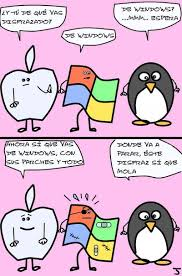 Windows Vs Mac Meme - mac vs linux vs windows imagenes humor yapa humor taringa