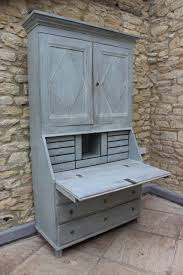 Swedish Painted Furniture C19th Painted Swedish Secretaire In The Gustavian Taste Furniture