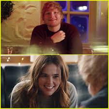 ed sheeran perfect video actress ed sheeran debuts perfect music video starring zoey deutch watch