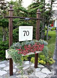 light post with address sign 124 best driveway marker images on pinterest house numbers