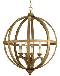 Orb Chandeliers Axel Orb Chandelier Lighting Currey And Company