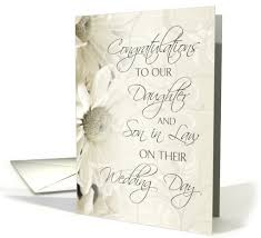 vow renewal cards congratulations white flowers wedding congratulations to our and in