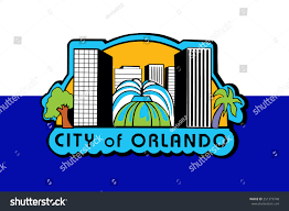 Florida Flag History Orlando Florida Usa Flag Vector Original Stock Vector 251373748