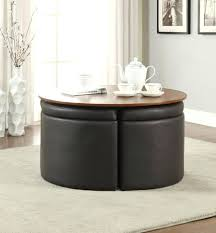 coffee table with four ottoman wedge stools coffee table with four ottomans ottomans coffee table with four