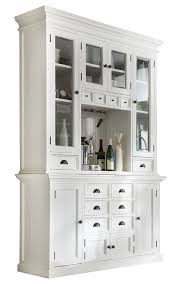 kitchen hutch furniture novasolo halifax white mahogany wood hutch
