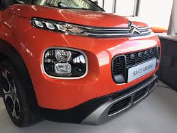 2017 citroen c3 aircross front fascia indian autos blog