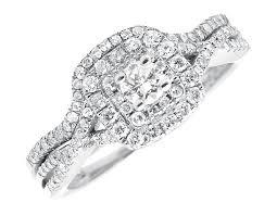 infinity diamond ring yellow gold bridal halo cluster diamonds infinity wedding