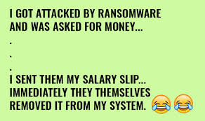 these wannacry ransomware jokes are breaking the internet must chcek
