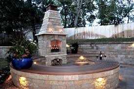Landscape Fire Features And Fireplace Image Gallery Westland