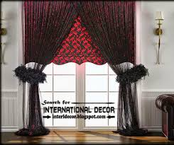 Curtains Black And Red 20 Best Modern Curtain Designs 2017 Ideas And Colors