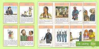 american timeline cards americans timeline