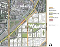 Uw Seattle Campus Map by Redmond Will Fund Overlake Village Bike Walk Bridge Seattle Bike