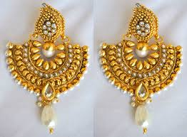 bengali gold earrings buy traditional gold earrings online