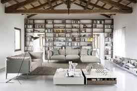 Wohnzimmer Modern Loft Sofas Sofa Lounge Regalwand Und Couch