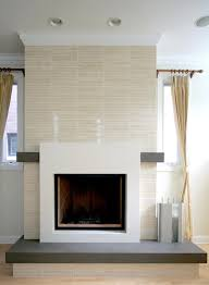 Travertine Fireplace Hearth - the tiles are vein cut travertine the fireplace surround hearth