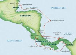 Map Of Central America And Caribbean by Rainforests U0026 Reefs Of Central America Costa Rica Panama