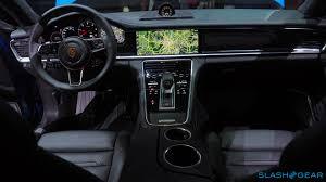 porsche 2017 interior 2017 porsche panamera 4s and turbo every techie u0027s dream car