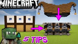 5 epic u0026 easy tips for building in minecraft youtube