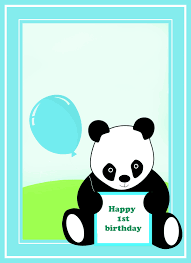 panda bear birthday invitations alanarasbach com
