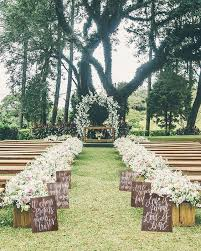 Country Backyard Wedding Triyae Com U003d Backyard Wedding Centerpiece Ideas Various Design