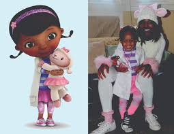 doc mcstuffins costume with and doc mcstuffins and lambie