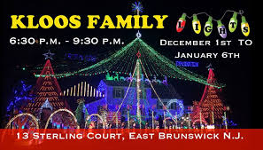 christmas lights events nj kloos family lights home facebook