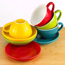 Cappuccino Cups by Cappuccino Cups And Saucers Easy Living Goods
