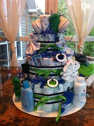 Diaper Centerpiece For Baby Shower by Diaper Cakes For Boys Diapers Boys And Cake