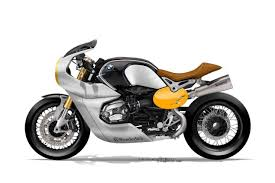 bmw motorcycle cafe racer beemer in a cool cafe style rendering looks cool u2013 carpy u0027s cafe