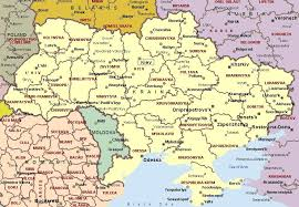 map ukraine map of ukraine ukrainian map detailed map of ukraine