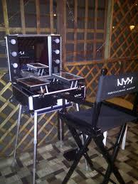 nyx x large makeup artist train case with lights mugeek vidalondon