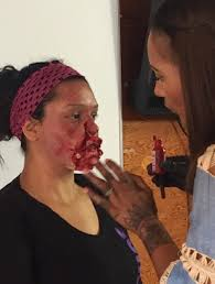 makeup classes in san diego gruesome photos from our recent master of fx illusion workshop