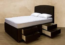 Platform Bed King With Storage Queen Platform Bed With Storage Drawers Plan Bedroom Ideas