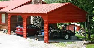 Garage With Carport Vertical Metal Carports Vertical Roof Carport